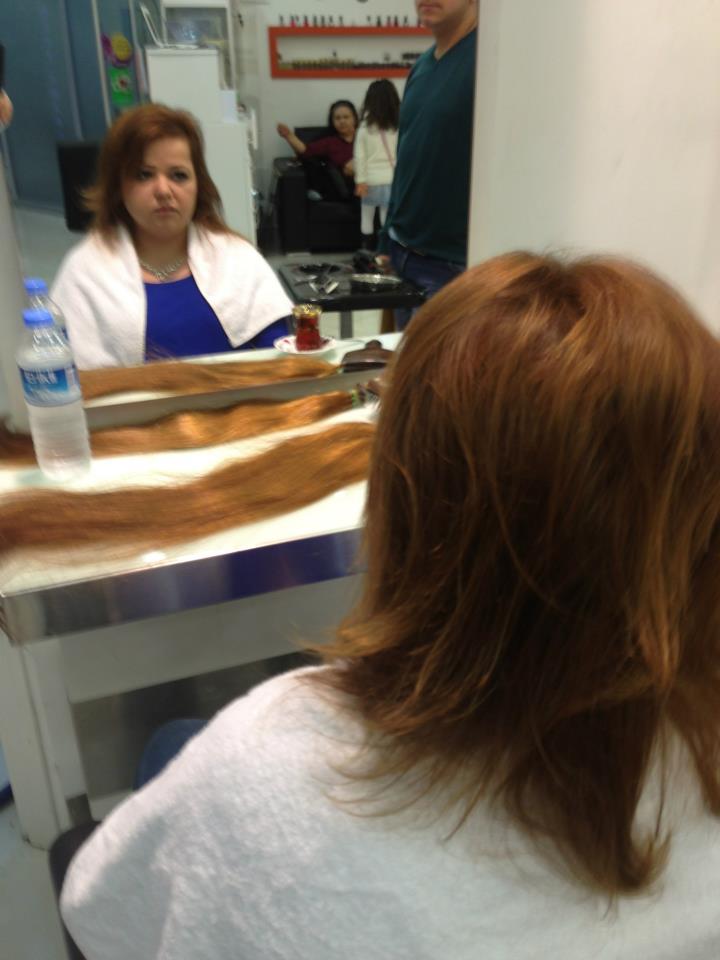tatil dönüşü saçlar