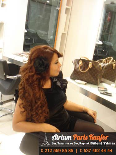 kaynaklı saç