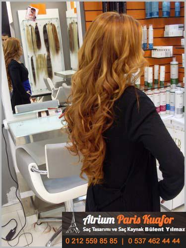 kaynaklı saç stilleri