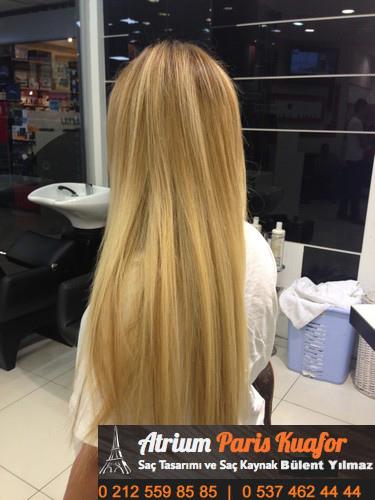 bakımlı saçlar