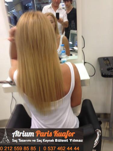 saçı geriye tarama