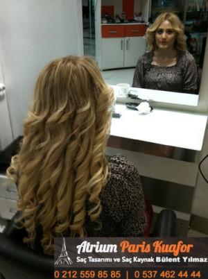 Saç Uzatmak İçin Keratin Kaynak Yöntemi