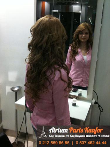 Uzun ve Bakımlı Saçlar