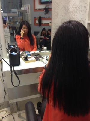 Kaynak Saç Uygulaması