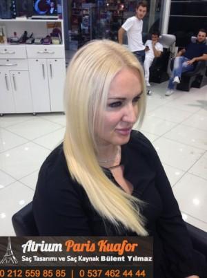 Boncuk Saç Kaynak Halka Kaynak Uygulama Videosu